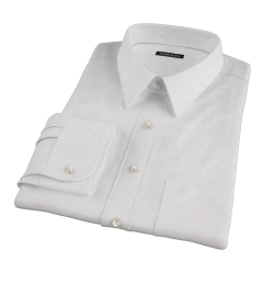 Canclini Light Pink Fine Stripe Men's Dress Shirt