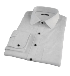 Charcoal Heavy Oxford Men's Dress Shirt