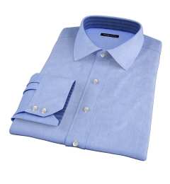 Stanton 120s Sky Blue End-on-End Custom Made Shirt
