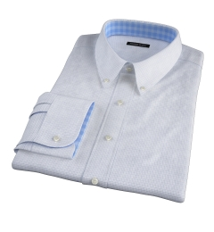 Madison Light Blue Tattersall Tailor Made Shirt