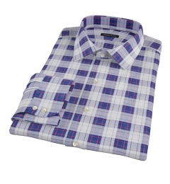 Canclini Etna Plaid Fitted Shirt