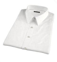 100s Micro Jacquard Short Sleeve Shirt