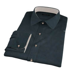 Hunter Green Teton Flannel Fitted Shirt