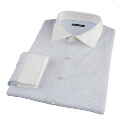 Canclini Blue Multi Stripe Custom Dress Shirt
