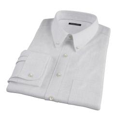 Blue Lavender Morton Grid Fitted Dress Shirt