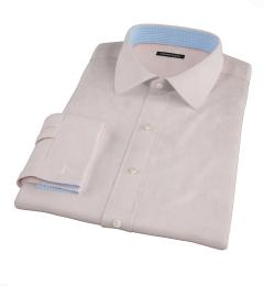 Mercer Light Pink Broadcloth Tailor Made Shirt