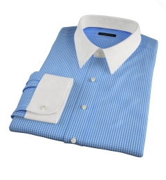 Waverly Blue Check Custom Made Shirt