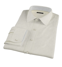 Bowery Yellow Wrinkle-Resistant Pinpoint Men's Dress Shirt
