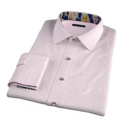 Hibiscus Japanese Flower Print Tailor Made Shirt