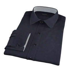 Black Chino Fitted Shirt