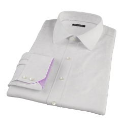 Pink Fine Stripe Men's Dress Shirt