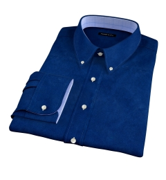 Deep Indigo Heavy Oxford Fitted Shirt