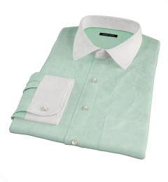 Green Heavy Oxford Custom Made Shirt