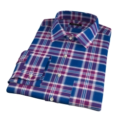 Warren Large Blue Plaid Tailor Made Shirt