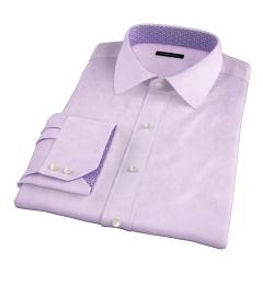 Thomas Mason Goldline Lavender Fine Twill Tailor Made Shirt