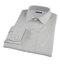 Japanese Light Blue Multi Stripe Custom Made Shirt