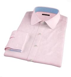 Thomas Mason Pink Fine Twill Custom Made Shirt