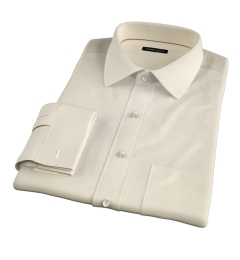 Genova 100s Yellow End-on-End Tailor Made Shirt