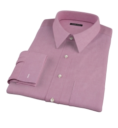 Red Heavy Oxford Men's Dress Shirt