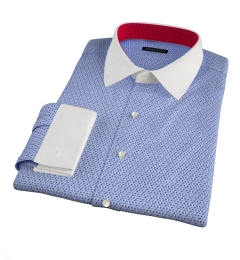 Granada Blue Print Custom Dress Shirt