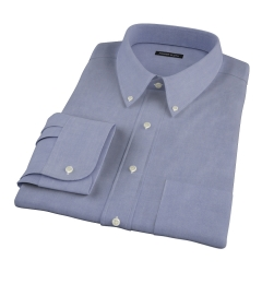 Navy Oxford Men's Dress Shirt