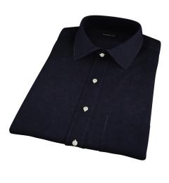 Black 100s Twill Short Sleeve Shirt