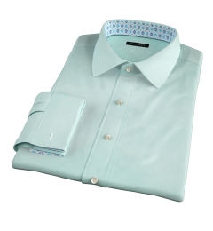 Genova 100s Mint End-on-End Custom Made Shirt