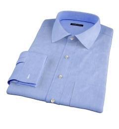 Stanton 120s Sky Blue End-on-End Dress Shirt
