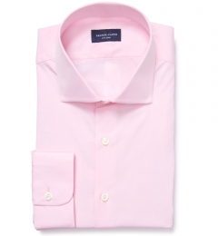 Thomas Mason Pink Luxury Broadcloth Men's Dress Shirt