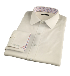 Genova 100s Yellow End-on-End Dress Shirt