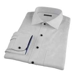 Stanton 120s Grey End-on-End Tailor Made Shirt