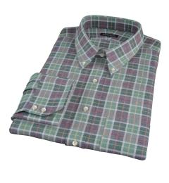 Green Dock Street Flannel Custom Made Shirt