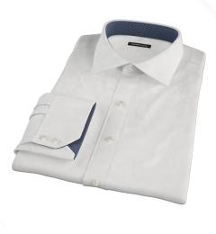 Canclini White Linen Dress Shirt