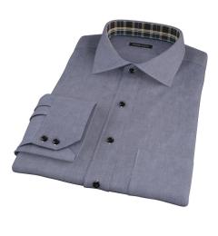 Navy Chambray Tailor Made Shirt