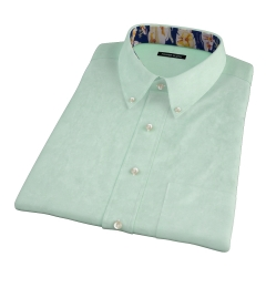 Green Heavy Oxford Short Sleeve Shirt