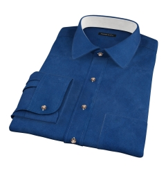 Deep Indigo Heavy Oxford Fitted Shirt