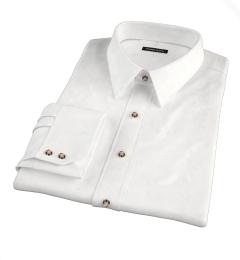 Grandi and Rubinelli White Linen Tailor Made Shirt