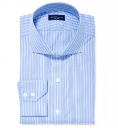 Canclini Blue Multi Stripe Tailor Made Shirt