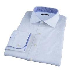 Light Blue 80s Royal Oxford Dress Shirt