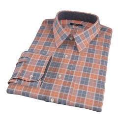 Orange Dock Street Flannel Custom Made Shirt