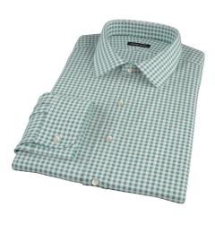Lorimer Forest Green Check Dress Shirt