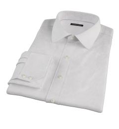 140s Lavender Wrinkle Resistant Grid Men's Dress Shirt