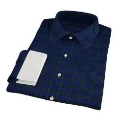Wythe Blackwatch Plaid Custom Dress Shirt