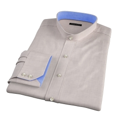 Bleecker Beige Melange Fitted Shirt