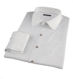 Greenwich Red Tattersall Custom Dress Shirt