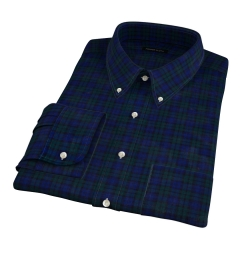 Thomas Mason Blackwatch Plaid Tailor Made Shirt