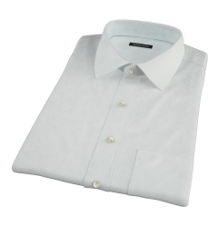 Bowery Mint Green Pinpoint Short Sleeve Shirt