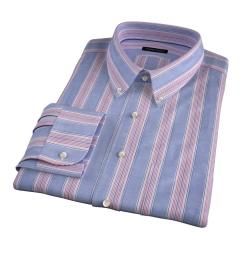 Albini Santa Fe Stripe Fitted Shirt