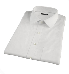 Greenwich White Broadcloth Short Sleeve Shirt