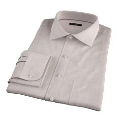 Bleecker Beige Melange Men's Dress Shirt